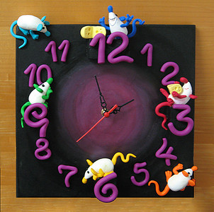 the whole clock