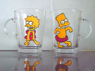 simpsons mugs