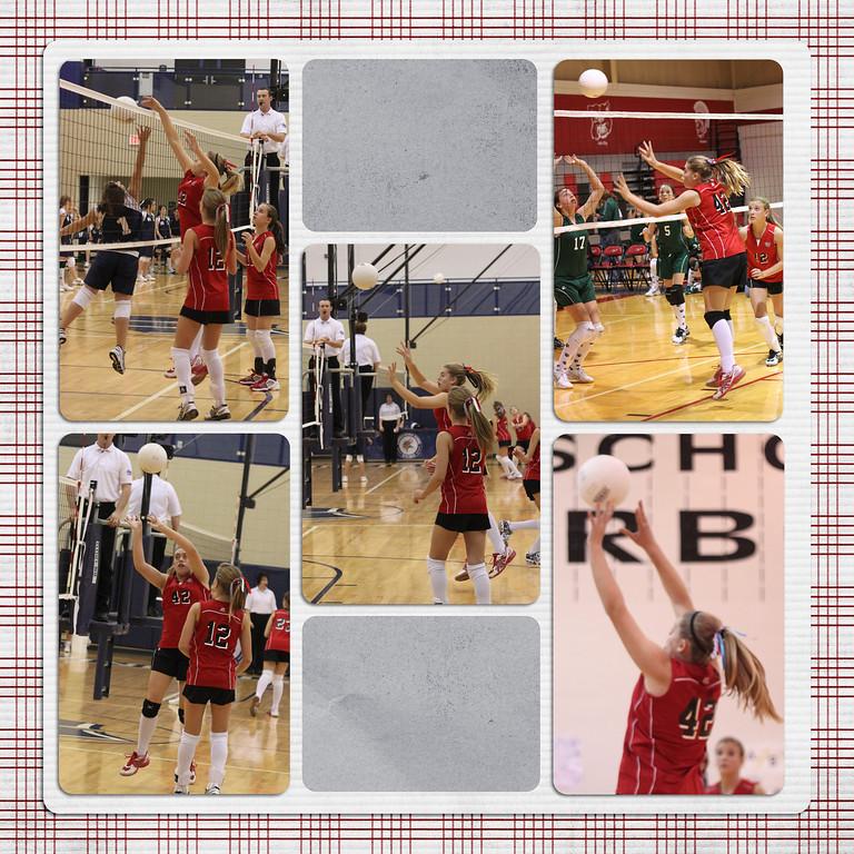 2009 7th Grade Volleyball Season
