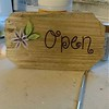 Open Closed Sign for Flower Shop
