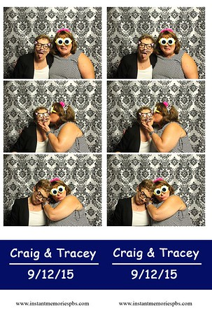 Craig & Tracey's Wedding 9-12-15