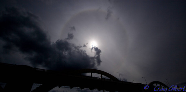 William Jolly Bridge, Brisbane - Halo