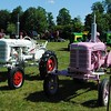 NASHOBA VALLEY VOICE/ANNE O'CONNOR<br /> Crank Up, a show with engines, tractors and much else, has been in Pepperell every summer since 1975. Not all tractors are red or green.