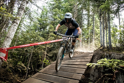 Ross Tilman. Bell Helmets Canadian Open Challenger Enduro presented by CamelBak. Crankworx Whistler 2017. Photo by: Scott Robarts