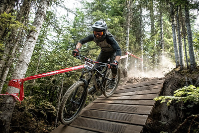 Jean-Frederic Tremblay. Bell Helmets Canadian Open Challenger Enduro presented by CamelBak. Crankworx Whistler 2017. Photo by: Scott Robarts