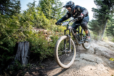 Tom Pieterowski. Bell Helmets Canadian Open Challenger Enduro presented by CamelBak. Crankworx Whistler 2017. Photo by: Scott Robarts