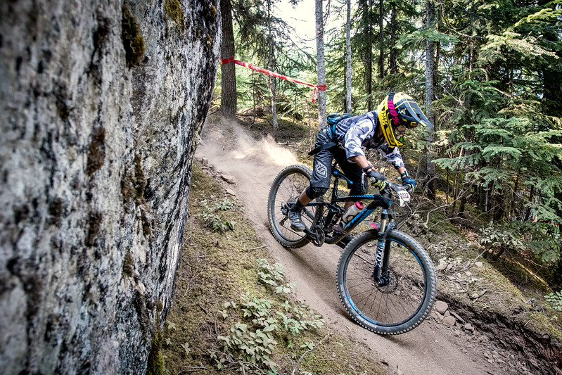 Wei Tien Ho. Bell Helmets Canadian Open Challenger Enduro presented by CamelBak. Crankworx Whistler 2017. Photo by: Scott Robarts