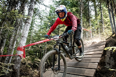 Chris Mitchell. Bell Helmets Canadian Open Challenger Enduro presented by CamelBak. Crankworx Whistler 2017. Photo by: Scott Robarts