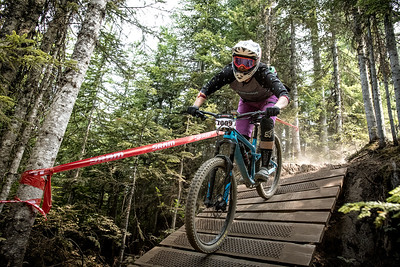 Veronika Voracek. Bell Helmets Canadian Open Challenger Enduro presented by CamelBak. Crankworx Whistler 2017. Photo by: Scott Robarts