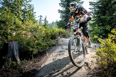 Tony Franklin. Bell Helmets Canadian Open Challenger Enduro presented by CamelBak. Crankworx Whistler 2017. Photo by: Scott Robarts