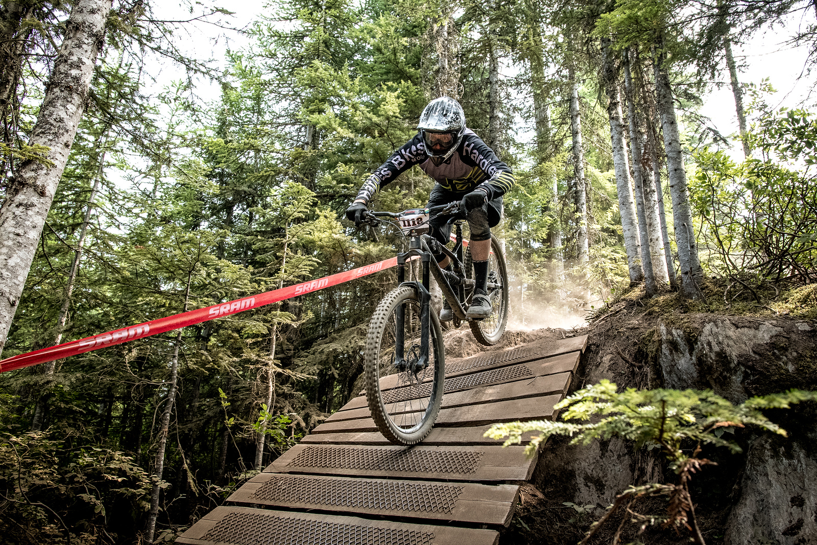 Steven MacVicar. Bell Helmets Canadian Open Challenger Enduro presented by CamelBak. Crankworx Whistler 2017. Photo by: Scott Robarts
