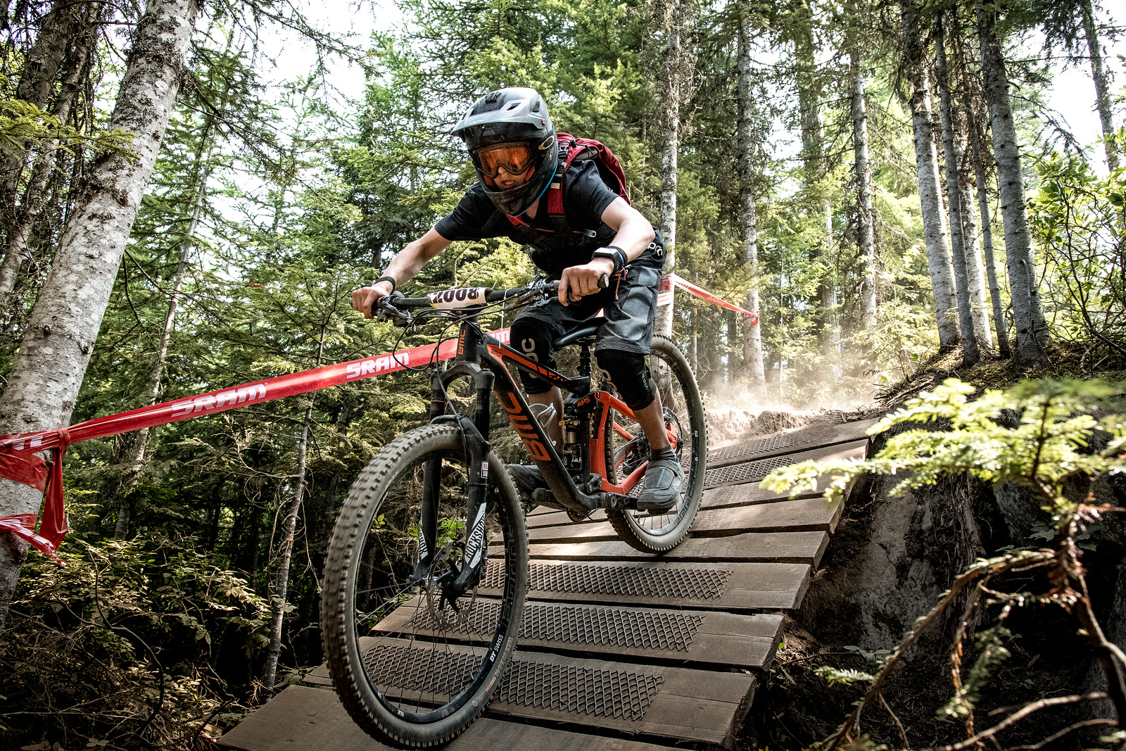 Jack Charlton. Bell Helmets Canadian Open Challenger Enduro presented by CamelBak. Crankworx Whistler 2017. Photo by: Scott Robarts