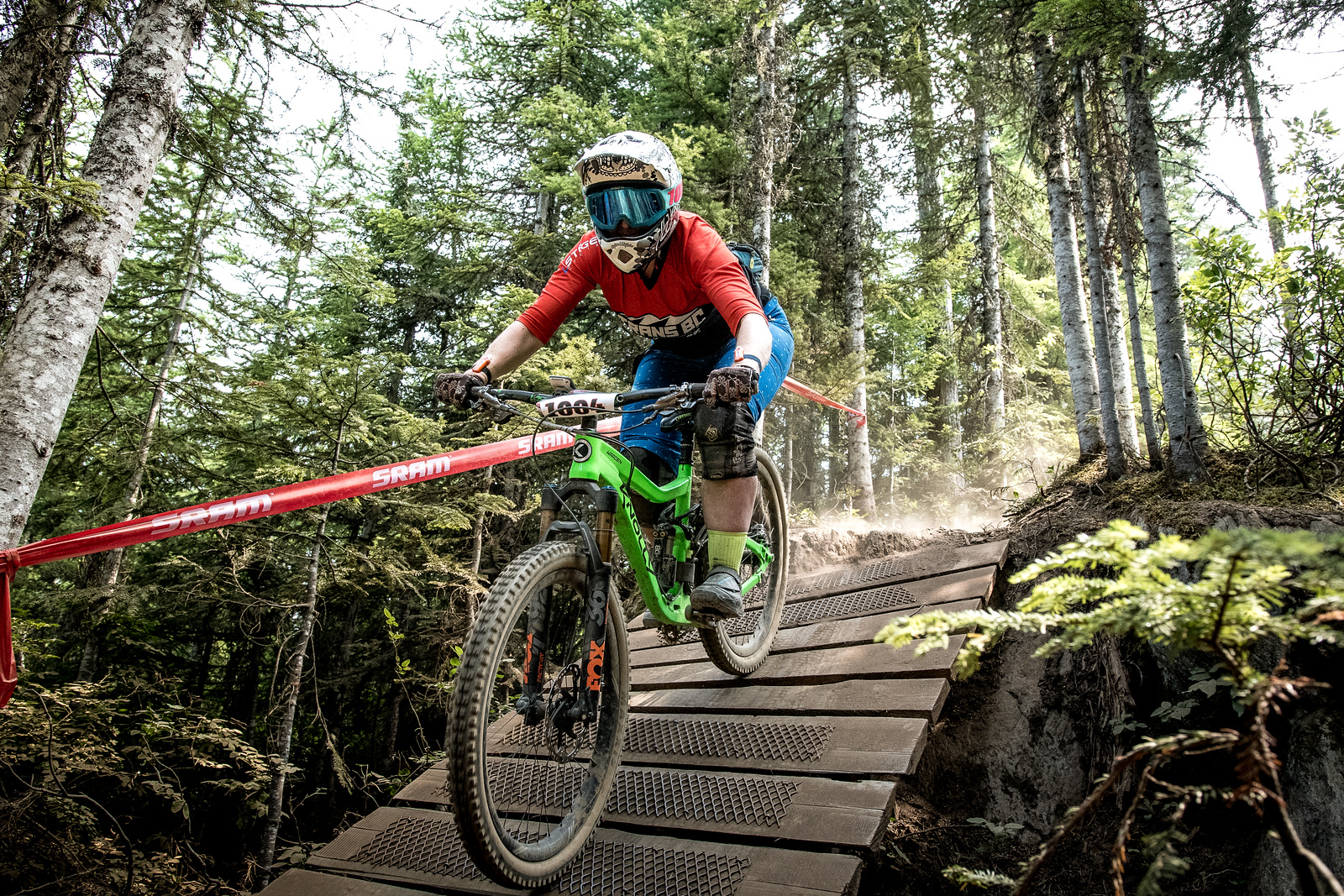 Jaclyn Jeffrey. Bell Helmets Canadian Open Challenger Enduro presented by CamelBak. Crankworx Whistler 2017. Photo by: Scott Robarts