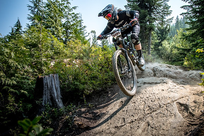 Ainhoa Ijurko.  Bell Helmets Canadian Open Challenger Enduro presented by CamelBak. Crankworx Whistler 2017. Photo by: Scott Robarts