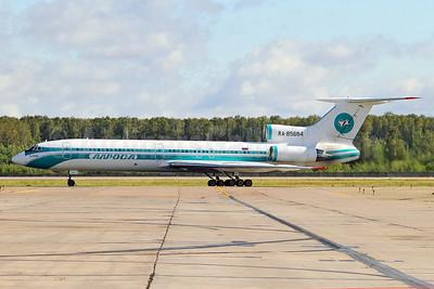 Alrosa Avia (Alrosa Air Company) Tu-154M RA-85684 (msn 90A-851) DME (Keith Burton). Image: 905426.