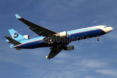 Avient Aviation McDonnell Douglas MD-11 (F) Z-BAV (msn 48408) SIN (K.C. Sim). Image: 904223.