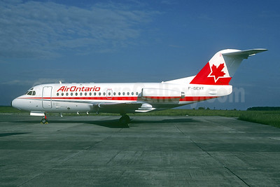 Flight 1363 crashed on takeoff near Dryden, ON headed to Winnipeg on March 10, 1989 as C-FONF.  24 died.