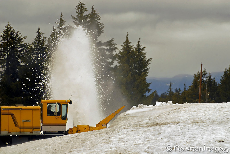 Crater Lake Plow Monster