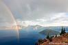 Rainbow and Wizard Island