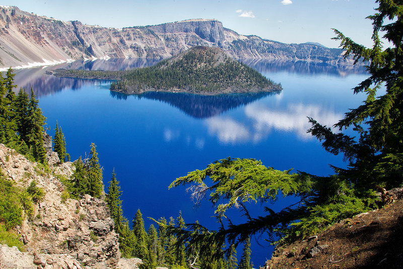 Wizzard Island, Crater Lake National Park, Oregon