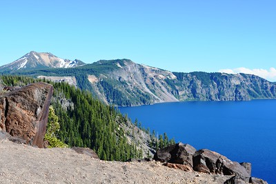 East end of Crater Lake