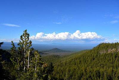 Looking Northeast from East end of Crater Lake