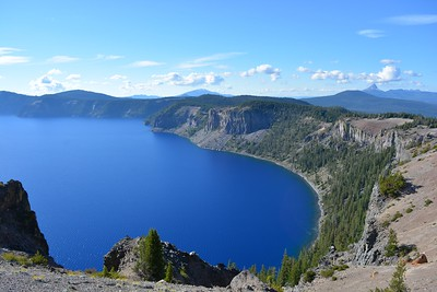 Crater Lake looking NW