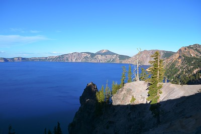Crater Lake from West Shore Drive