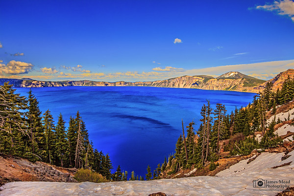 """The Deep Blue Drop,"" Crater Lake National Park, Oregon"