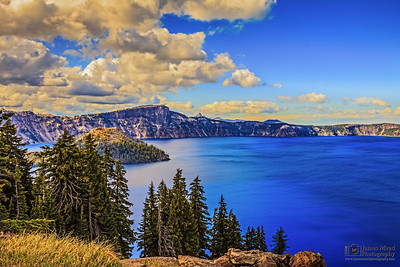 """The Golden Wizard,"" Crater Lake National Park"