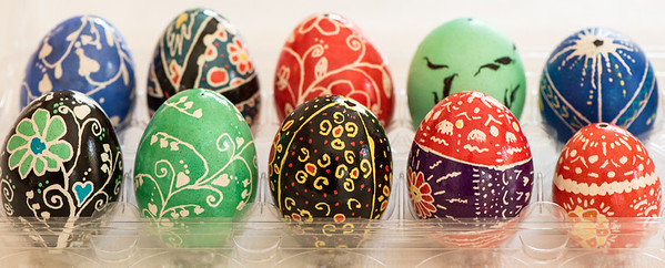 Nicole's Ukranian Eggs