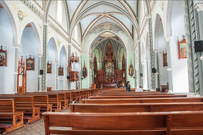 CHURCH XALTEVA INTERIOR