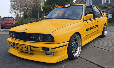 BMW Yellow Cab
