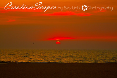 Sunset at Holland State Park Michigan