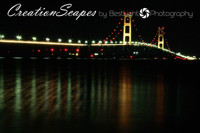 Mackinac Bridge Mackinaw City, Michigan