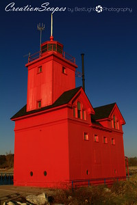 Big Red Lighthouse Holland, Michigan