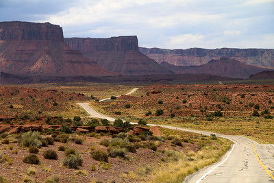 Route 128 near Moab, Utah