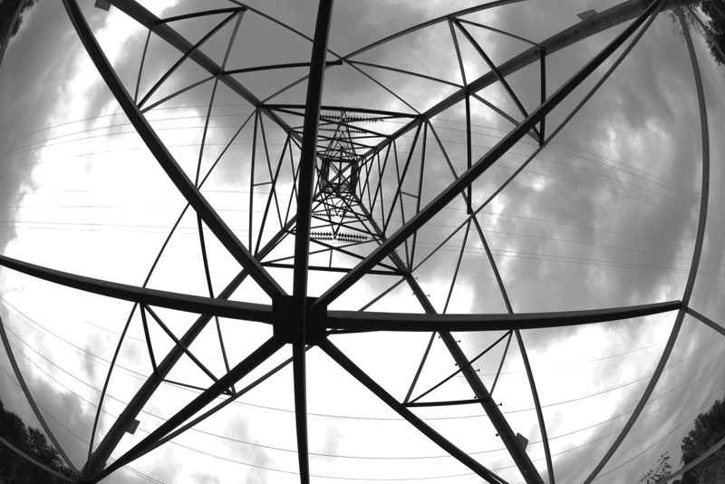 Cloudy Power Tower