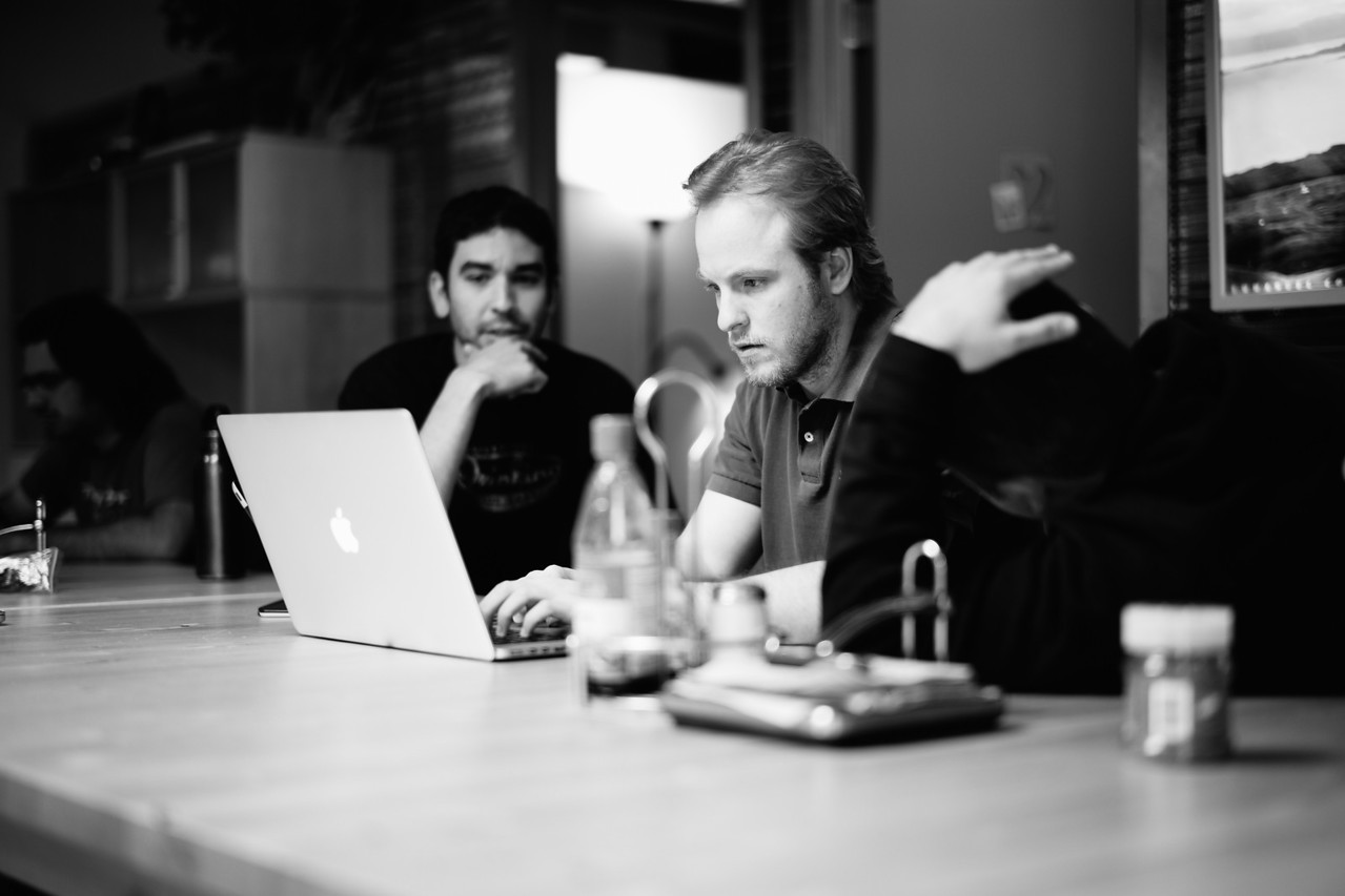 14 days until launch. Product Manager Evan and Sorcerer Mike Diaz under pressure.