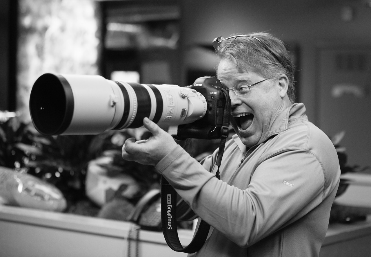5 days until launch. Silicon Valley icon Robert Scoble in the house! He's an old friend, and we're happy to lend him a majorly fun lens owned by Chris MacAskill.