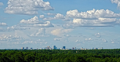 Columbia Skyline on a Summer's Day © Sparkle Clark