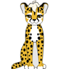 Lily Dust, the Cheetah