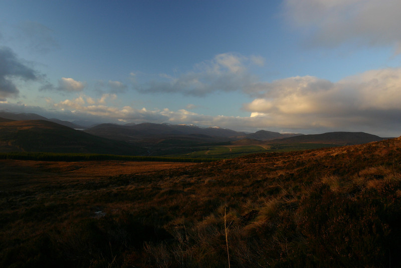 Autumn view from Ben Wyvis