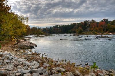 Riverfront Park North End Broad River in HDR  © Sparkle Clark