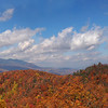 Blue Ridge Parkway Fall Colors<br /> <br /> © Sparkle Clark