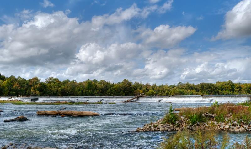 October Riverfront Park Diversion Dam in HDR<br /> © Sparkle Clark