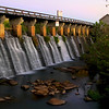 Riverfront Park Spillway at late Dusk <br /> © Sparkle Clark