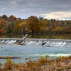 Fall Colors at Sundown at the Riverfront Park Diversion Dam in HDR<br /> © Sparkle Clark
