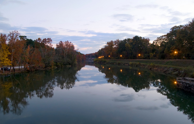 Sundown at the Riverfront Park Columbia Canal<br /> © Sparkle Clark