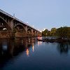 Gervais Street Bridge at Dusk<br /> <br /> © Sparkle Clark